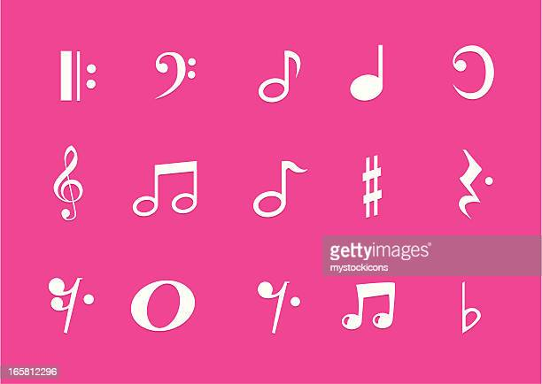 metro music symbols - bass clef stock illustrations, clip art, cartoons, & icons