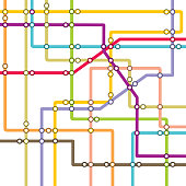 Metro scheme - subway map