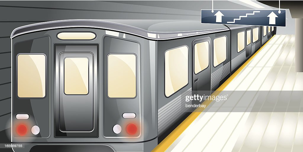 Metro station. : stock illustration