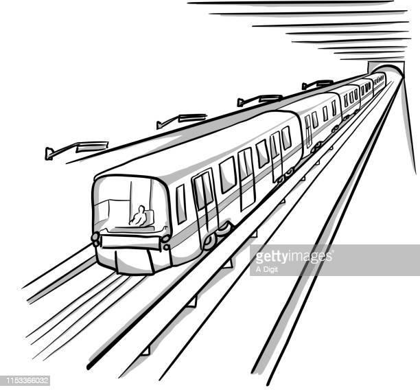 u-bahn-station - station stock-grafiken, -clipart, -cartoons und -symbole