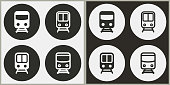 Metro - vector icon.