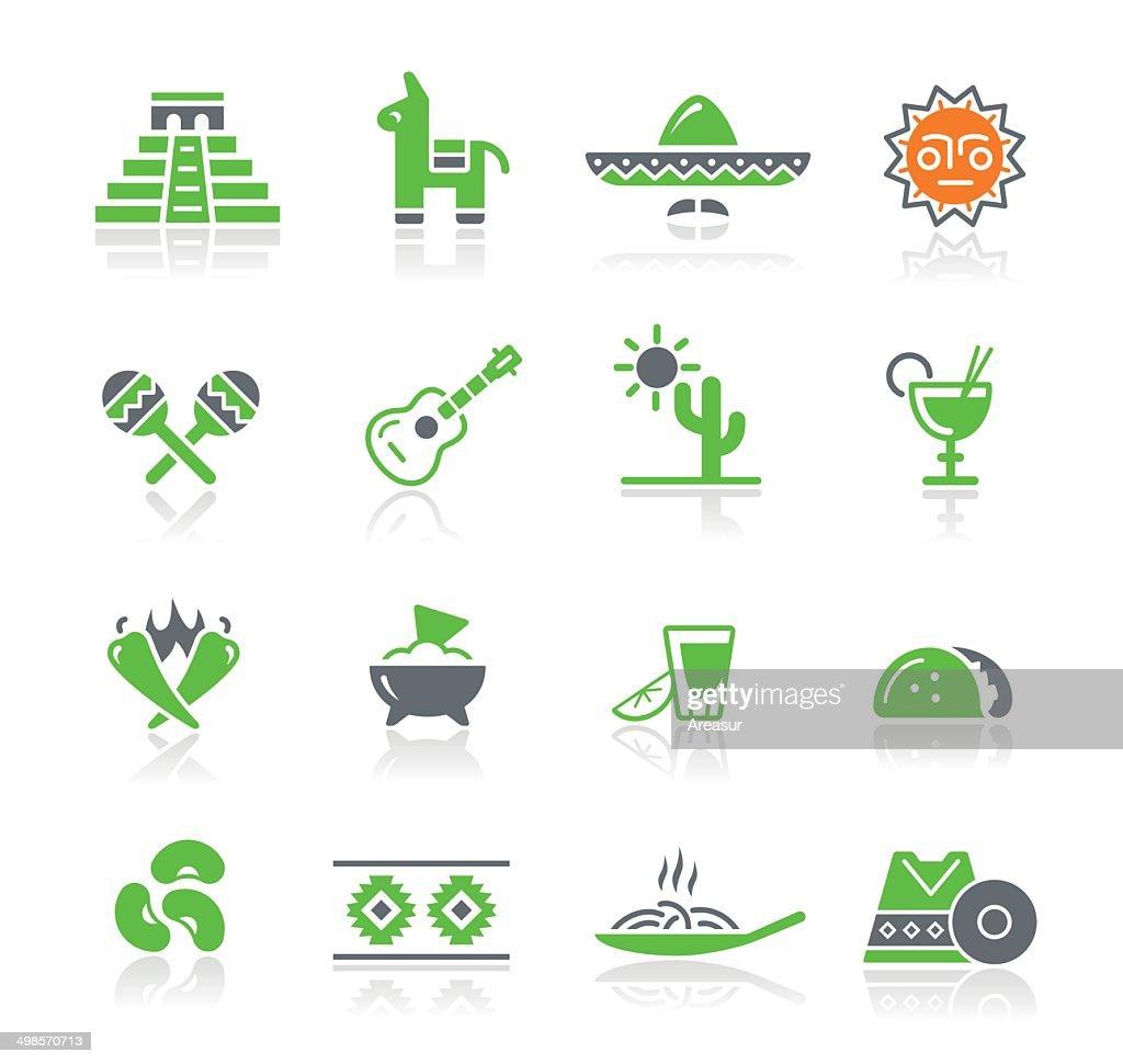 Cultura Mexicana/primavera Series : Ilustração