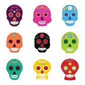 Mexican festival dia de muertos