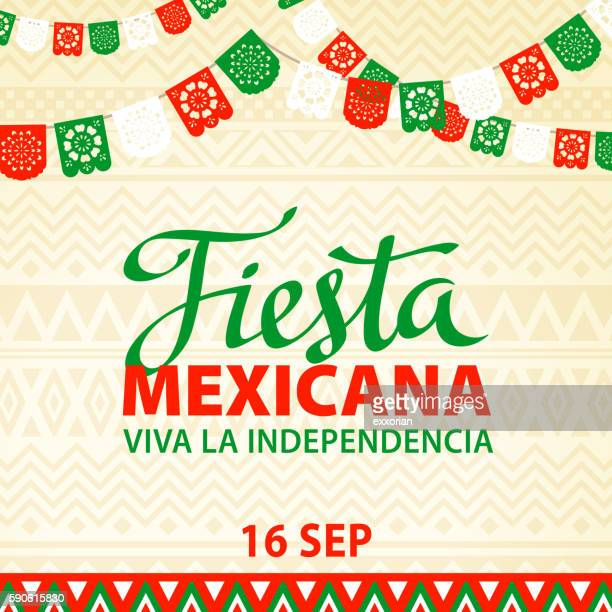 mexican fiesta - gala stock illustrations