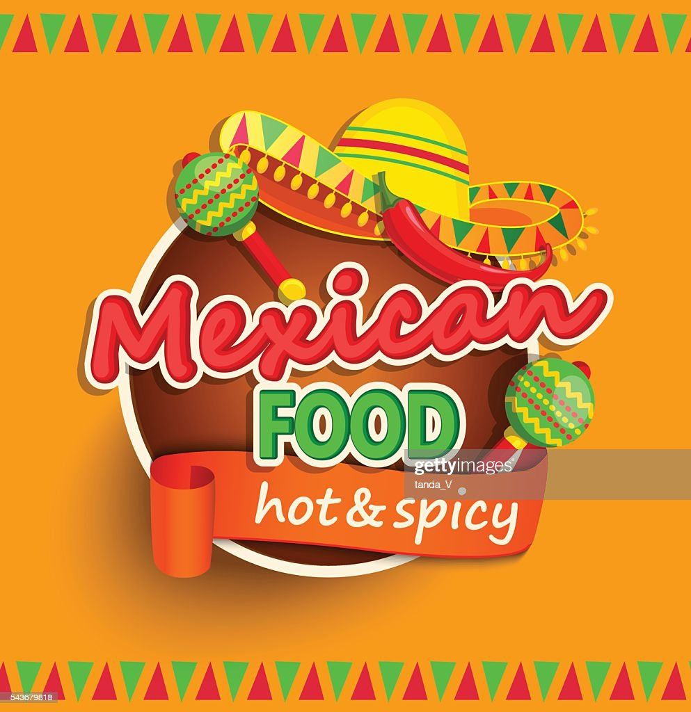 Mexican food label.