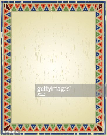 mexican grunge frame vector art getty images - Mexican Frame