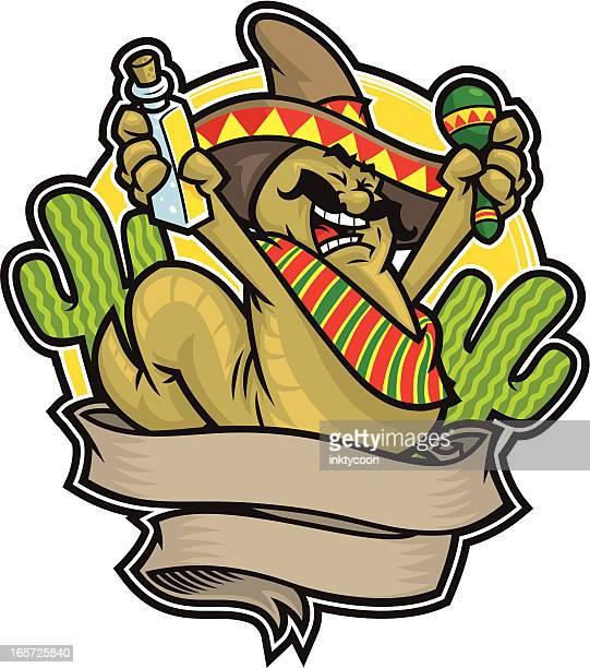 ilustrações, clipart, desenhos animados e ícones de festa mexicana - tequila drink