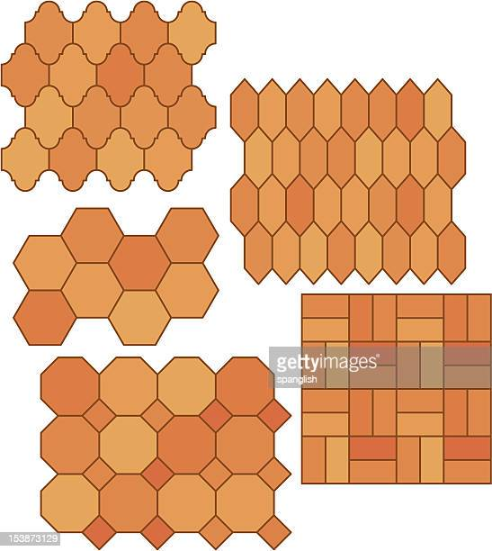 mexican pavers - pottery stock illustrations, clip art, cartoons, & icons