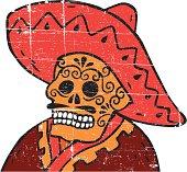 Mexican Skull Man