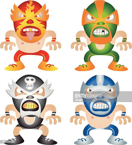 Mexikanische Wrestling-Tag-Team