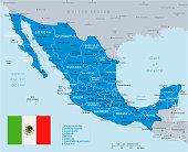 33 - Mexico - Blue Gray 10