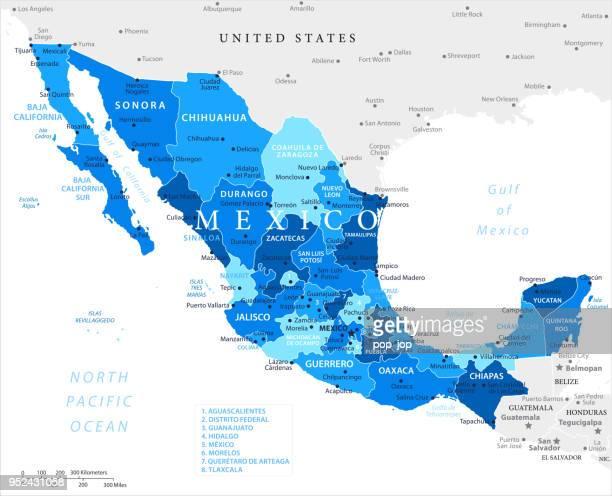 03-メキシコ - ブルー スポット 10 - シウダッドフアレス点のイラスト素材/クリップアート素材/マンガ素材/アイコン素材