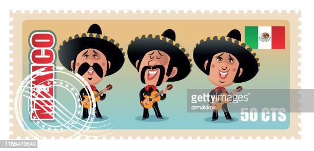 ilustrações de stock, clip art, desenhos animados e ícones de mexico family - mariachi