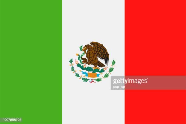 Mexico - bandera Vector icono plana