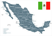 30 - Mexico - Grayscale Isolated 10
