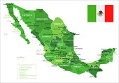15 - Mexico - Green Isolated 10