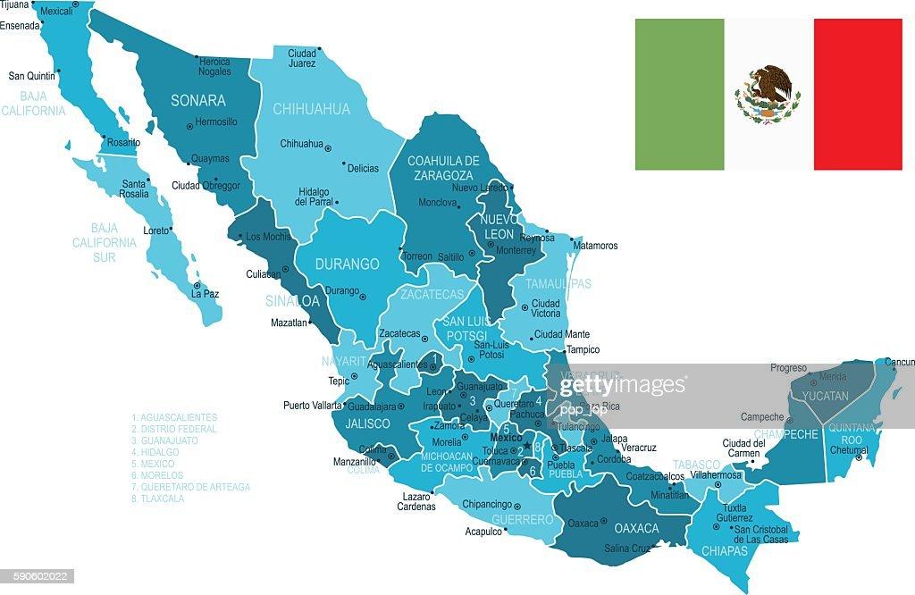 Baja California Peninsula Stock Illustrations And Cartoons