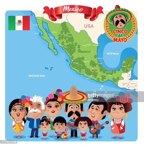 ilustrações, clipart, desenhos animados e ícones de méxico - pinata