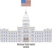 Michigan State Capitol, Lansing
