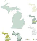 Michigan State Maps