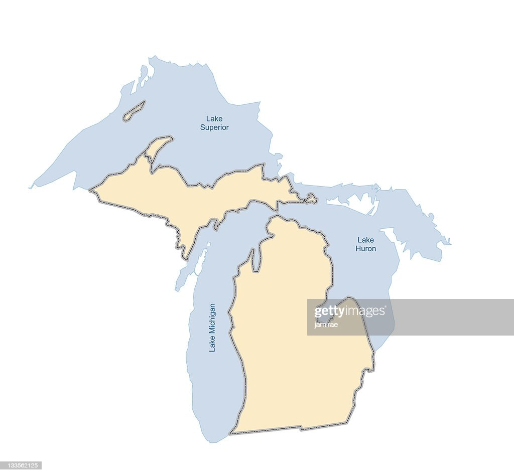 Michigan- vector