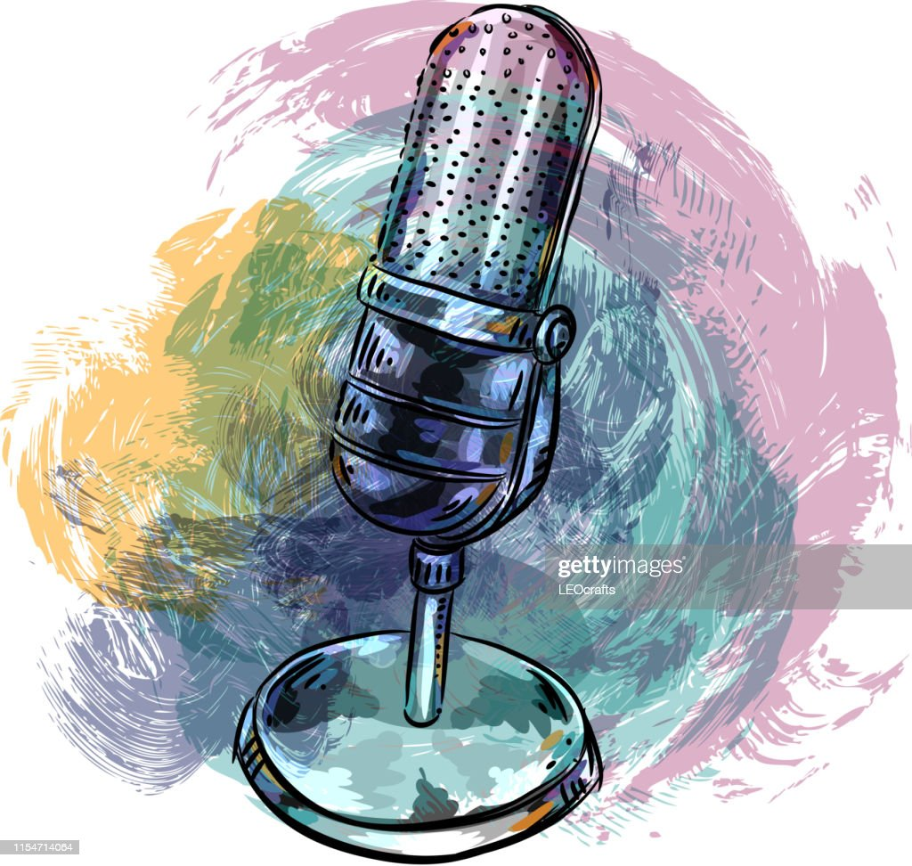 Microphone Stand Clip Art High Res Vector Graphic Getty Images