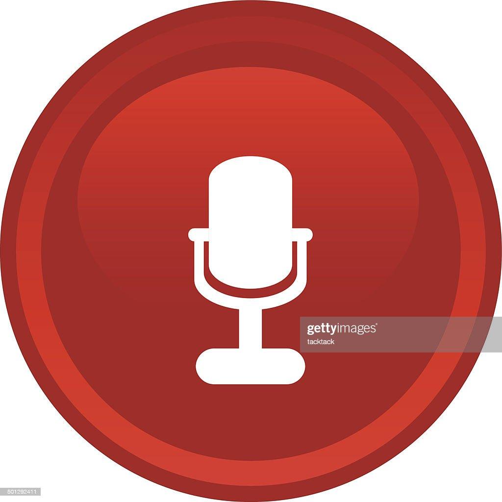 microphone icon web
