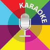 Microphone karaoke, microphone icon