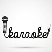 Microphone word karaoke