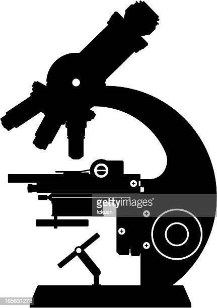 Microscopio de silhouette