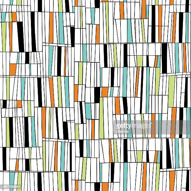 Mid Century Seamless Pattern