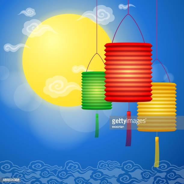60 Top Paper Lantern Stock Illustrations, Clip art, Cartoons