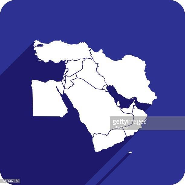 Middle East Icon Silhouette