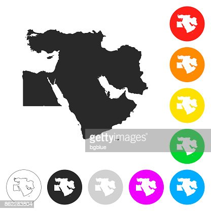 France map flat icons on different color buttons vector art getty keywords gumiabroncs Image collections