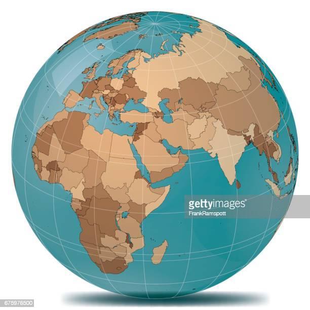 Planet Erde Länder des Nahen Ostens