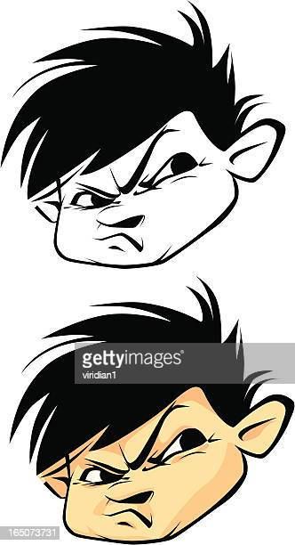 mike the bully - spiked stock illustrations, clip art, cartoons, & icons