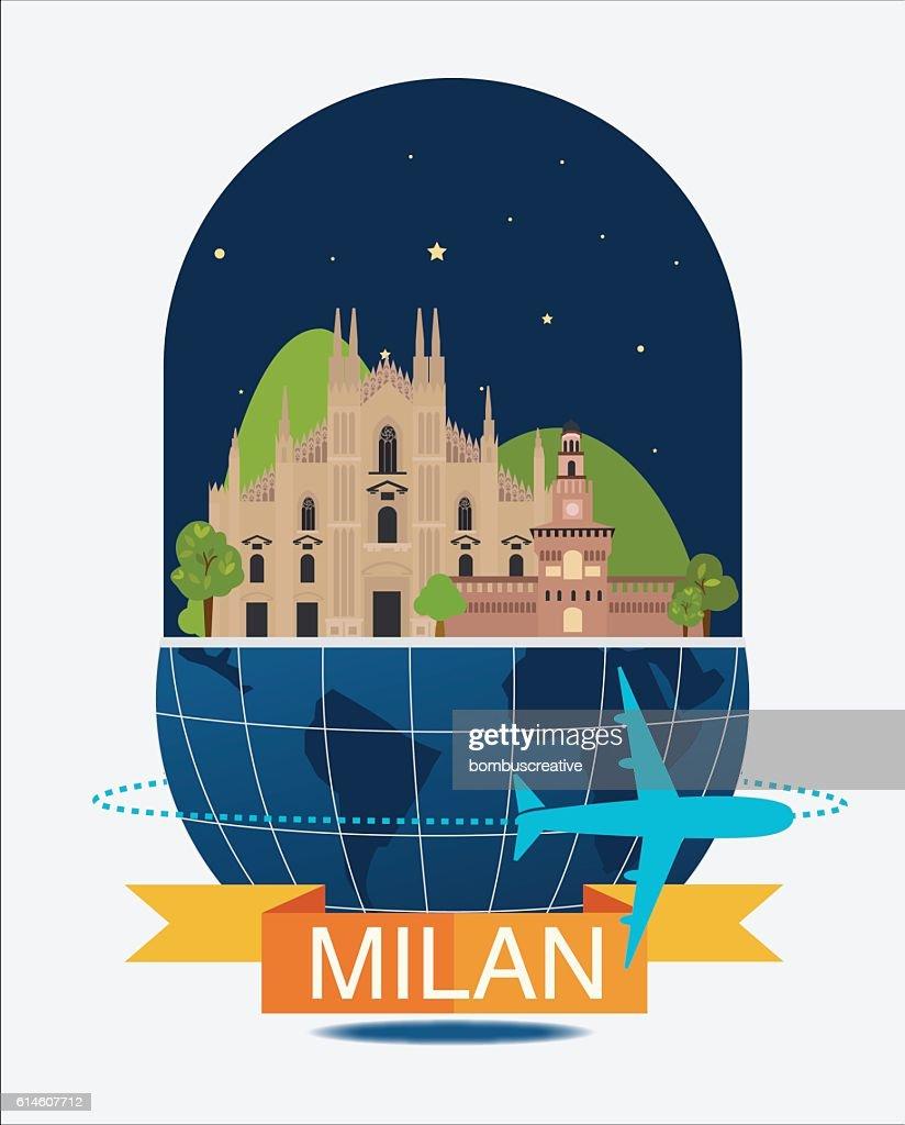 Milan City Night