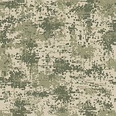 Military army uniform pixel seamless pattern