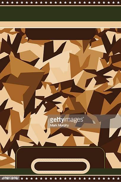 Motif Camouflage militaire modèle