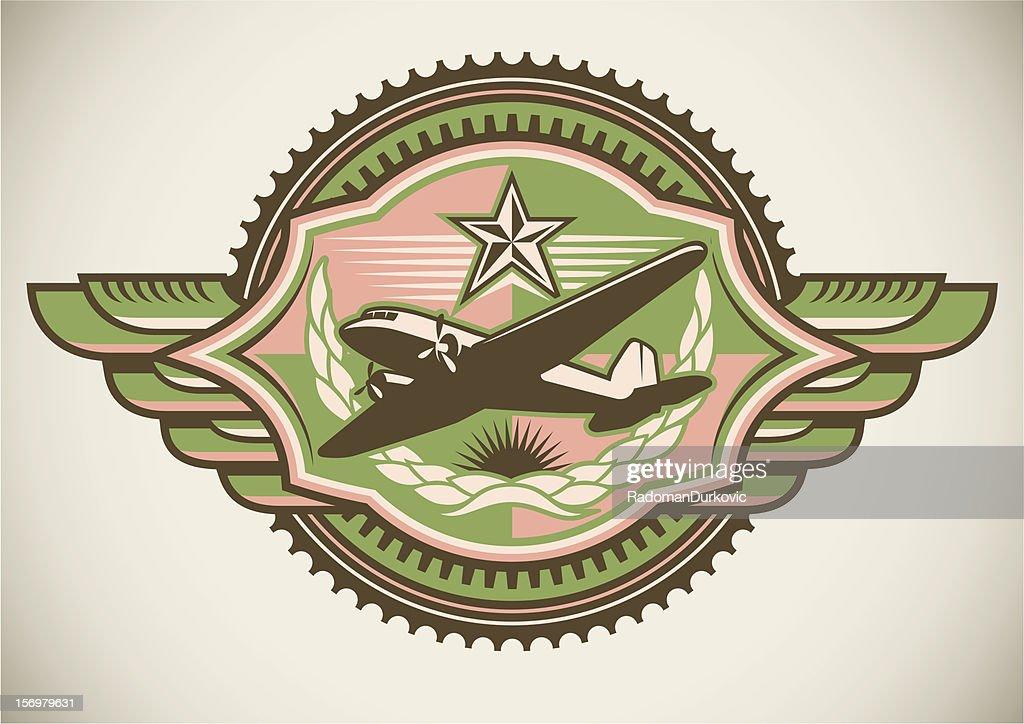 Military crest.