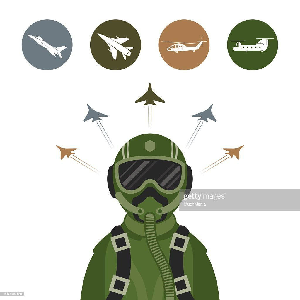 Military Fighter Jet Pilot
