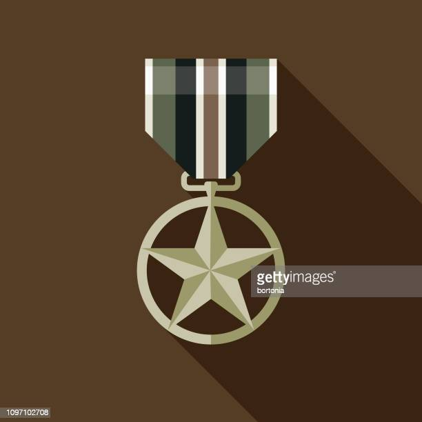 military medal icon - military stock illustrations