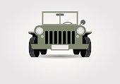 Military off-road car