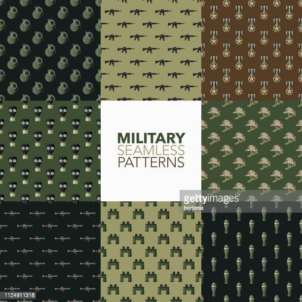 Military Seamless Patterns