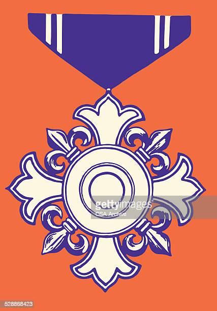 military style award ribbon - military style stock illustrations