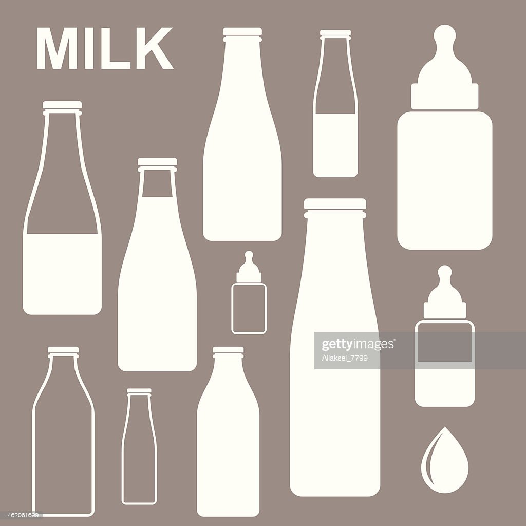 Milk. Bottle