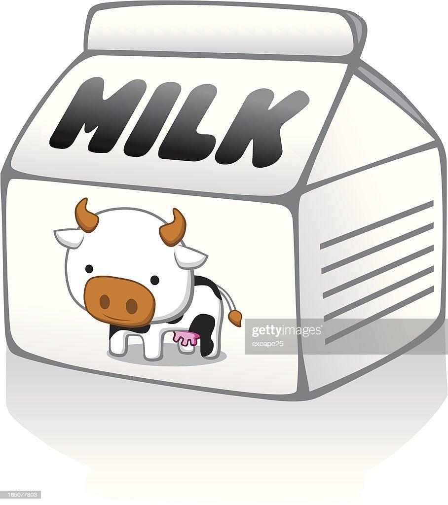 Milk Carton Vector Art | Getty Images