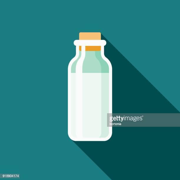 Milk Flat Design Baby Icon