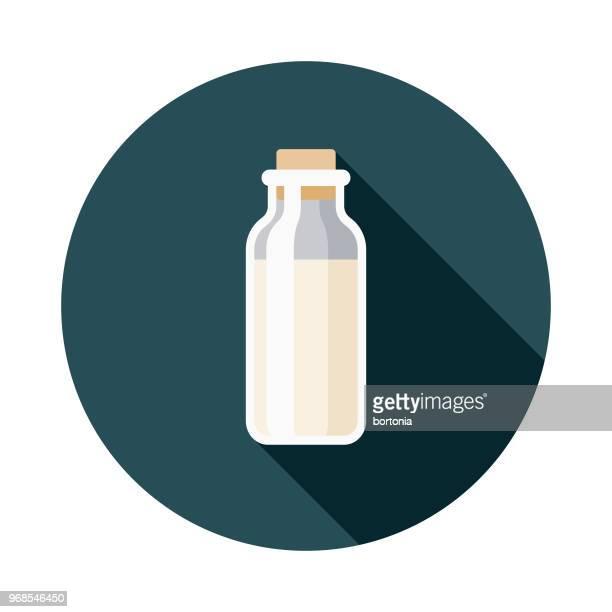 Milk Flat Design Hanukkah Icon