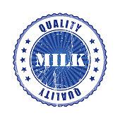 Milk  Quality Stamp.